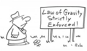 law of gravity