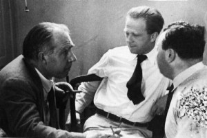 Bohr, Heisenberg, and Pauli in discussion