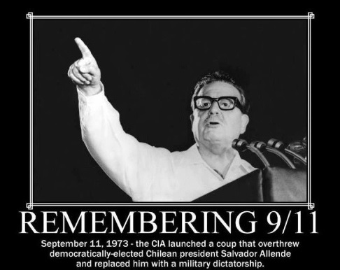 Remembering 9/11 - Salvador Allende