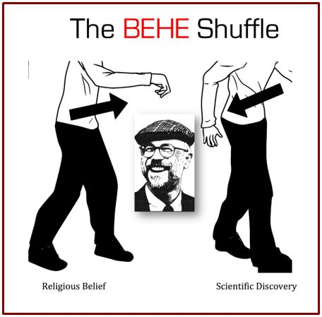 The Behe Shuffle: Invoking Religious Authority to Bypass Scientific Implications