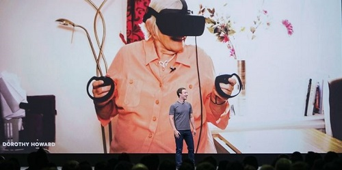 Oculus Connect 5 Conference, Mark Zuckerberg