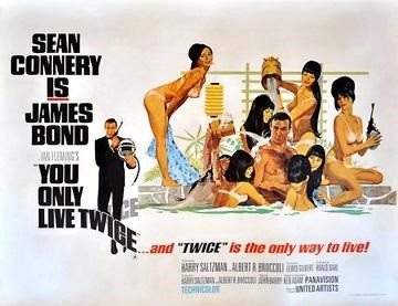 You Only Live Twice, James Bond