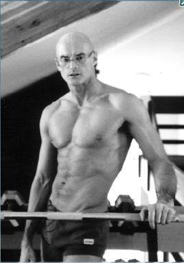 Ken Wilber working out