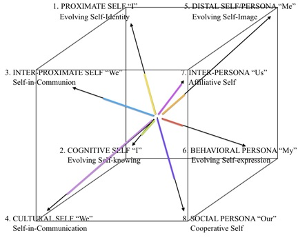 Figure 1. The AQAL Cube Psychograph