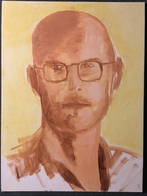 Ken Wilber painting by Scott Parker