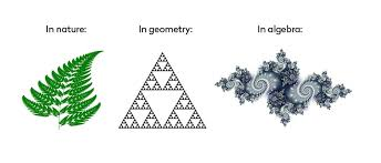 fractals in nature, geometry and algebra